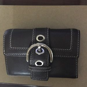 Leather Coach Wallet - Brown - Best Offer Accepted